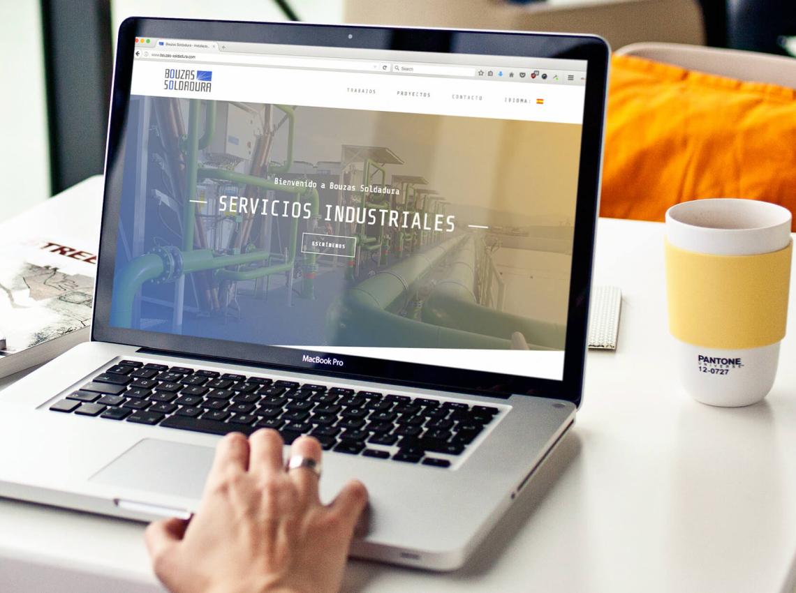Bouzas Soldadura Diseño Web Valencia