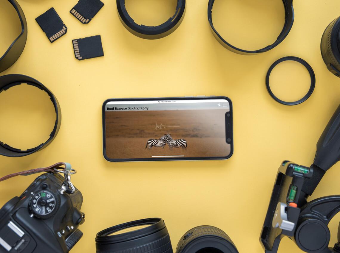 Raúl Barrero Diseño Web Fotógrafo