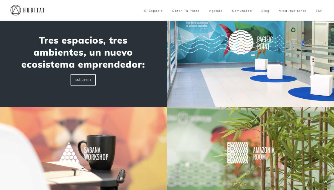 Hubitat Diseño Web Coworking Mutxamel