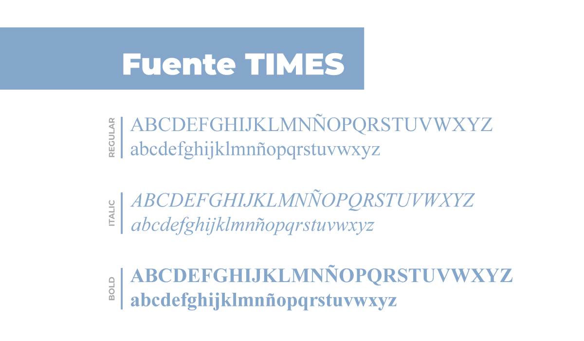 fuente times perfecta para tu sitio web