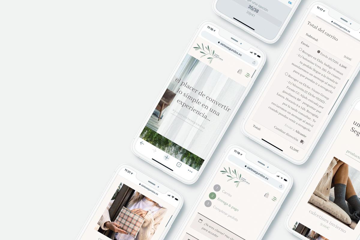 Experiencia de cliente - web responsive