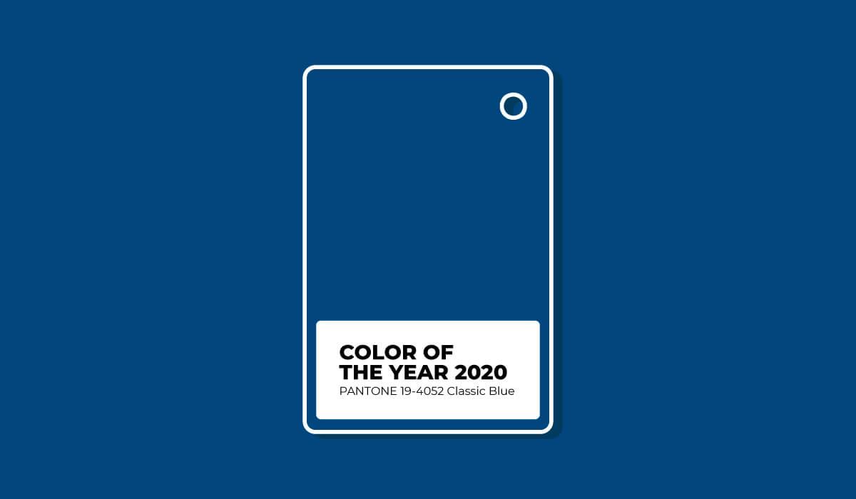 Descubre cuál es el Pantone 2021. Pantone Classic Blue 2020