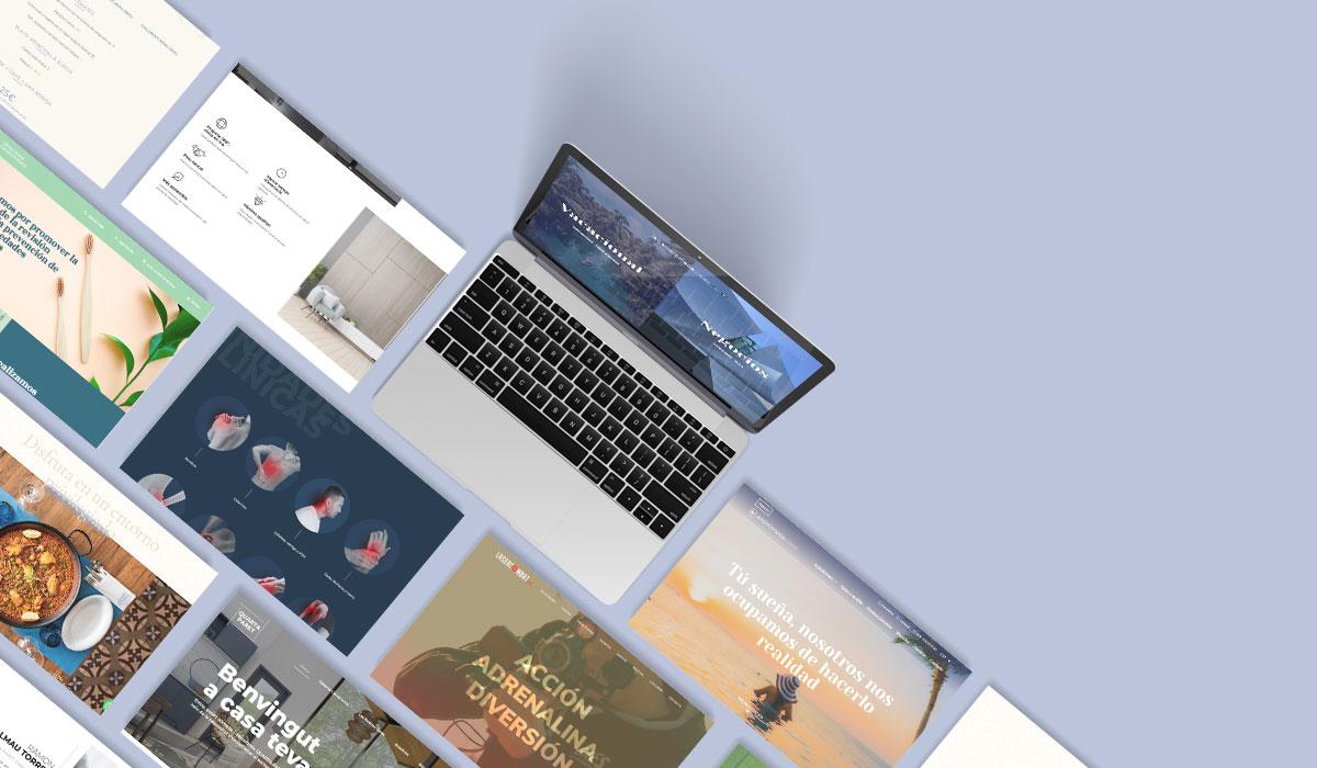 Tipo de web: página web corporativa