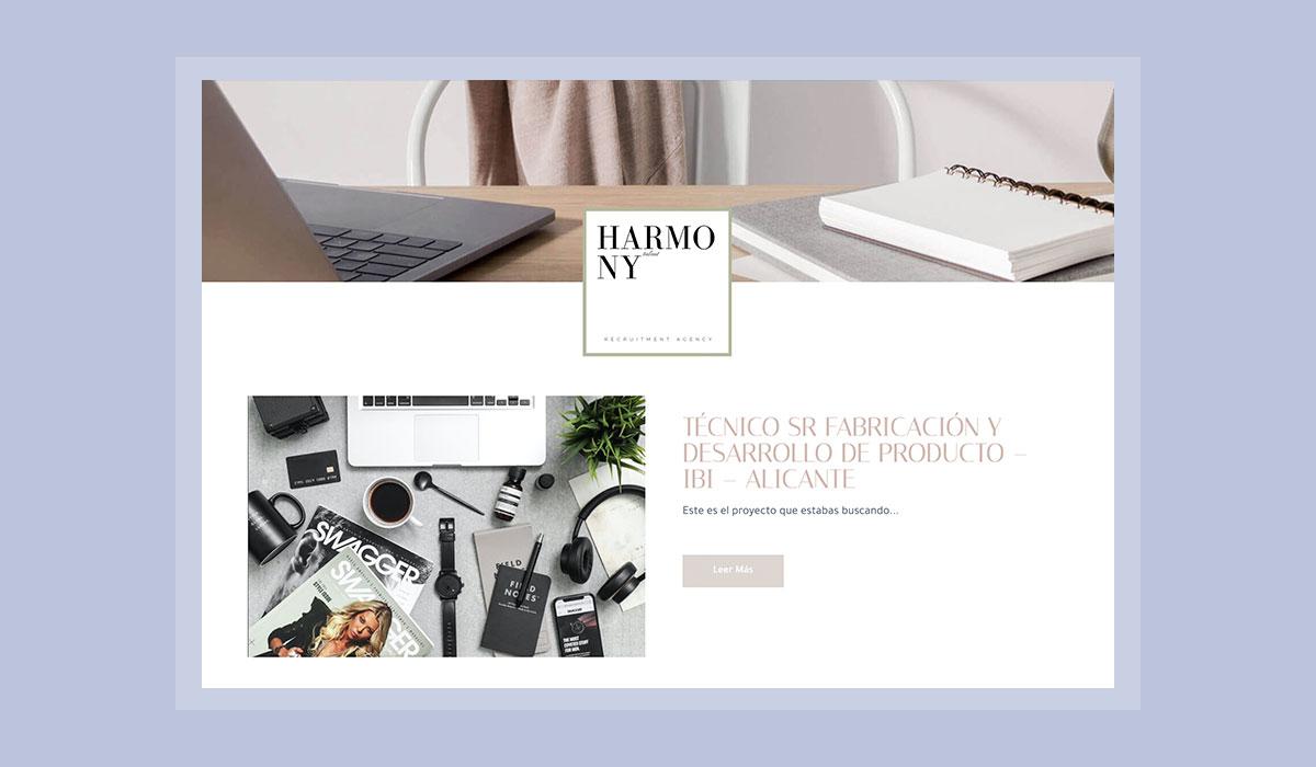 Web con funcionalidades concretas